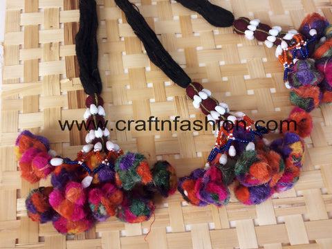 Ethnic Traditional Kutch Boho Tassels