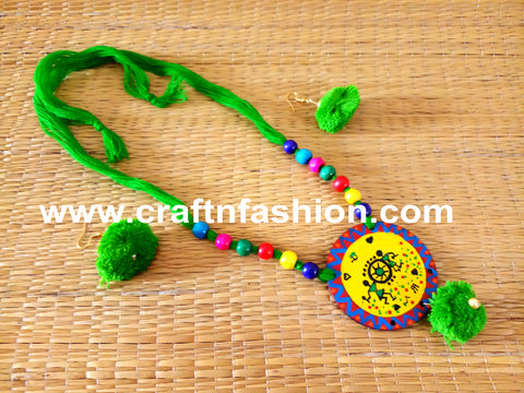 Multicolored Designer Party Wear Necklace