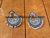 Afghan Style Oxidized Earrings