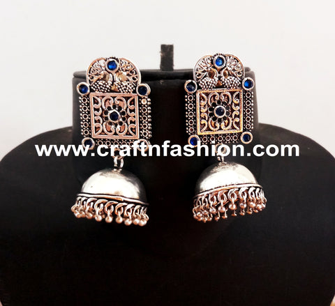 Stone Beaded Fashionable Earrings