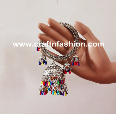 Silver Plated Fashion Wear Ghungroo Bangles