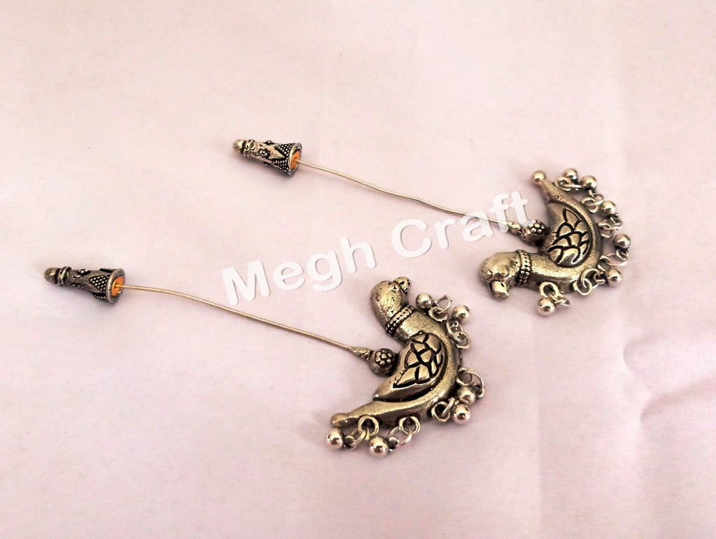 Designer Party Wear Oxidized Earrings