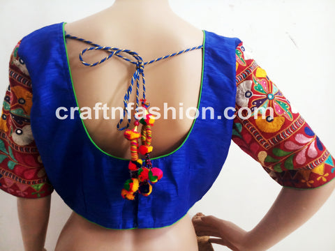 Dandiya Dance Wear Cotton Silk Blouse