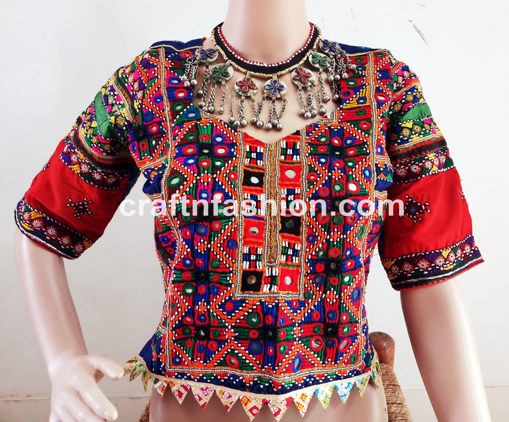 Women Fashion Dandia Dance Costume Blouse