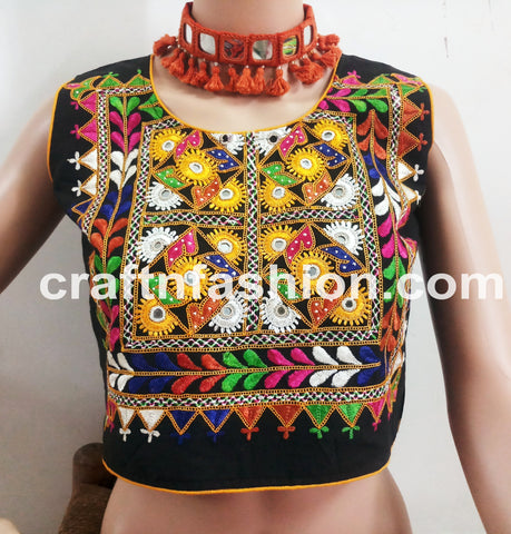 Traditional Gamthi Navratri Wear Top