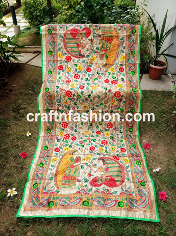 Fashion Wear Colorful Kalamkari Dupatta