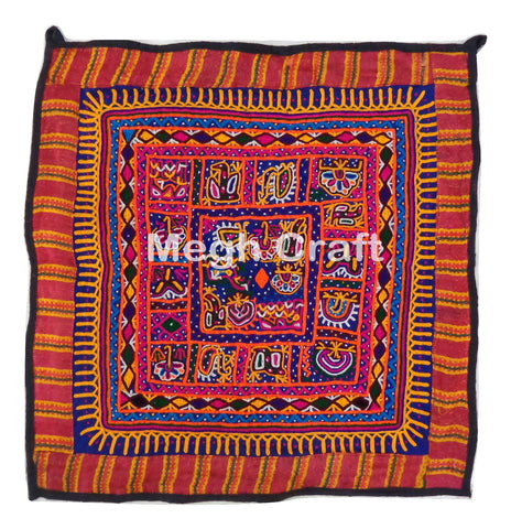 Indian Embroidery Mirror Work Chakla