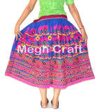 Hippie Gypsy Gujarati Dance Wear Skirt.