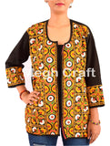 Tribal Banjara Style Cotton Hand Embroidered  Jacket