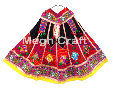 Indian Pathwork Banjara Chaniya Choli