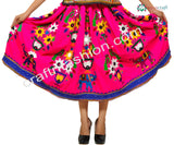 Beautiful Elephant Embroidered Navratri Skirt