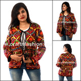 Multi Colored Women Fashion Jacket