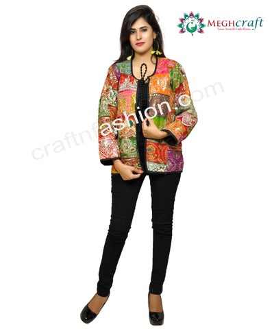 Banjara Style Patch Work Jacket