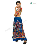 Tribal Gypsy Belly Dance Wear Embroidered Skirt