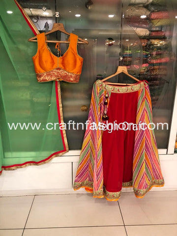Indian Ethnic Fashion Wear Ghaghra Choli