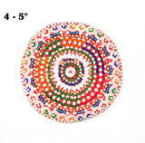Assorted Banjara Medallions Patches (4pcs)