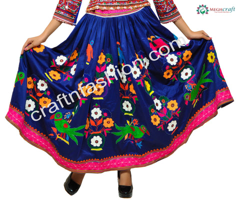 2018 Latest Dandiya Dance Wear Boho Skirt