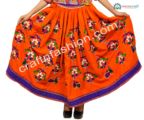 Navratri Wear Women's Handmade Skirt