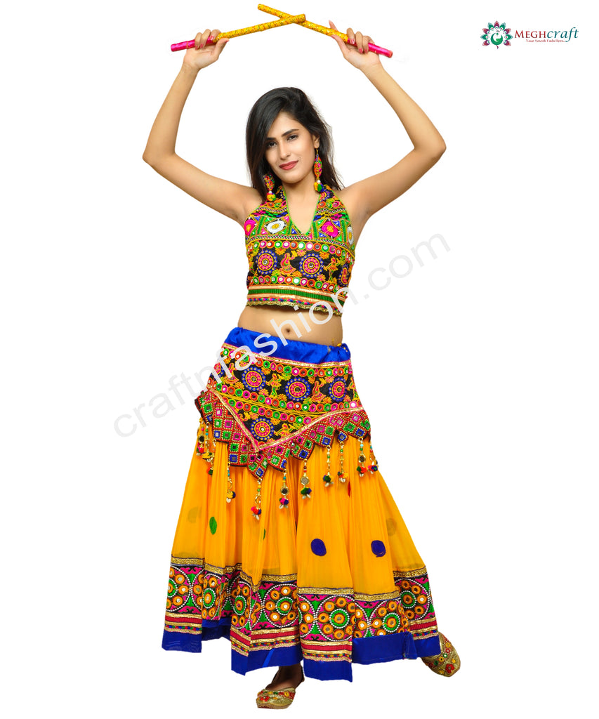 Tribal Banjara Style Navratri Wear Skirt