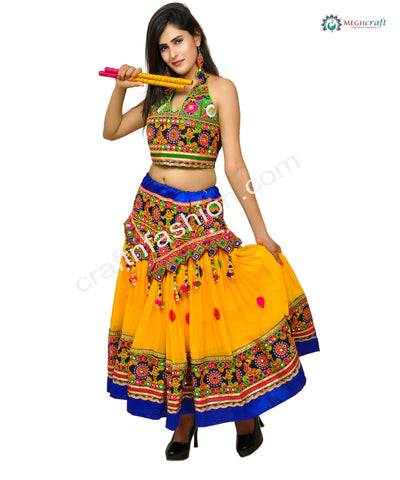 Indian Fashion Dandiya Dance Wear Ghaghr