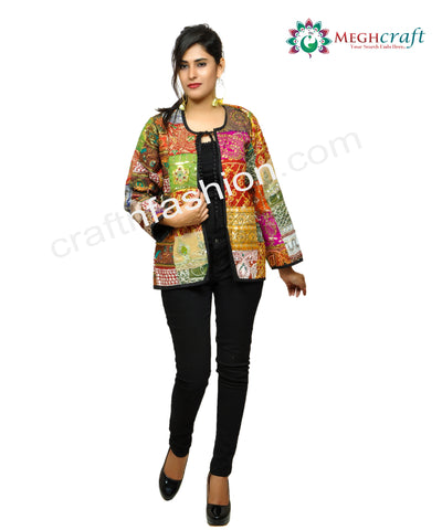 Women's Indo Western Fashion Wear Jacket