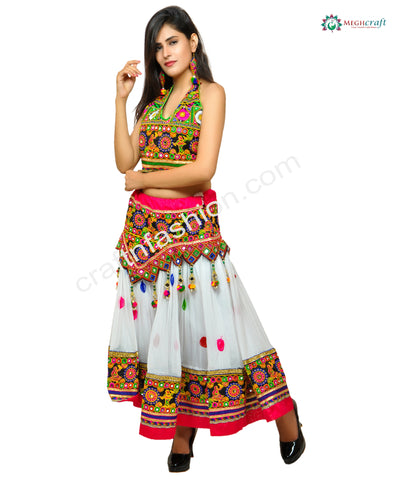 Hippie Bohemian Gujarati Chaniya/Skirt