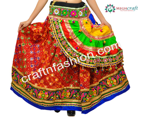 Gujarati Traditional Navratri Costume Dress