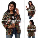 Kutch Floral Embroidery Boho Jacket