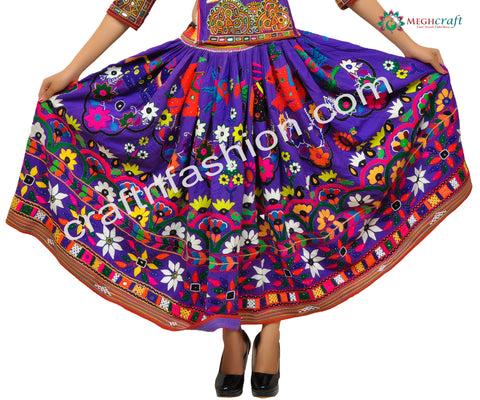 Dandiya Dance Wear Navratri Skirt
