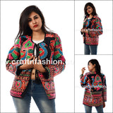 Kutch Embroidered Indo Western Jacket