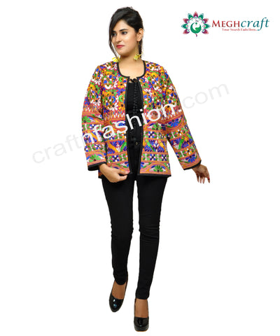 Embroidered Hippie Bohemian Style Jacket