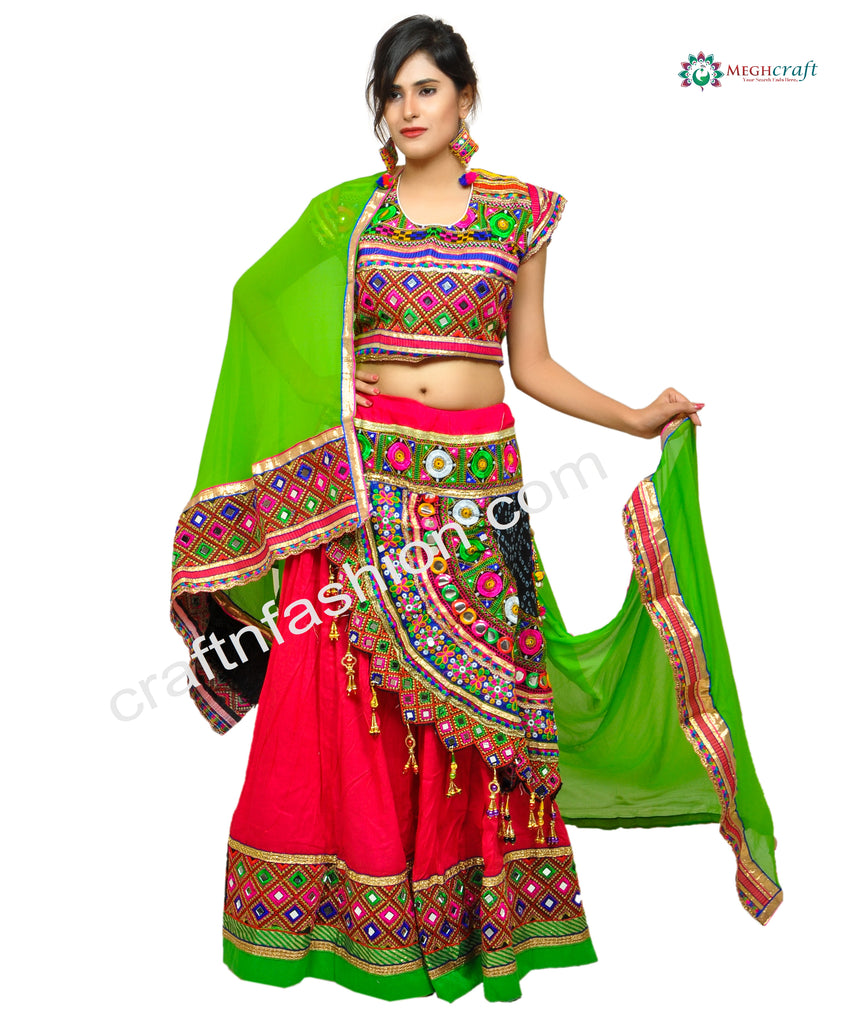 Gujarati Dandiya Dance Costume Dress