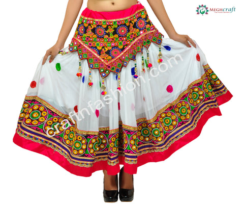 Kutch Embroidery Bohemian Skirt