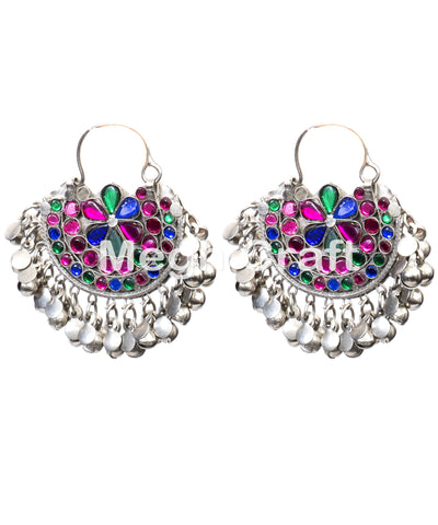 Kuchi Chand Bali Earrings