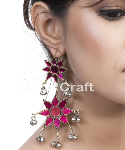 Fashion Afghani Hoop Earrings