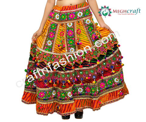 Vintage Kutch Embroidery & Mirror Work Choli