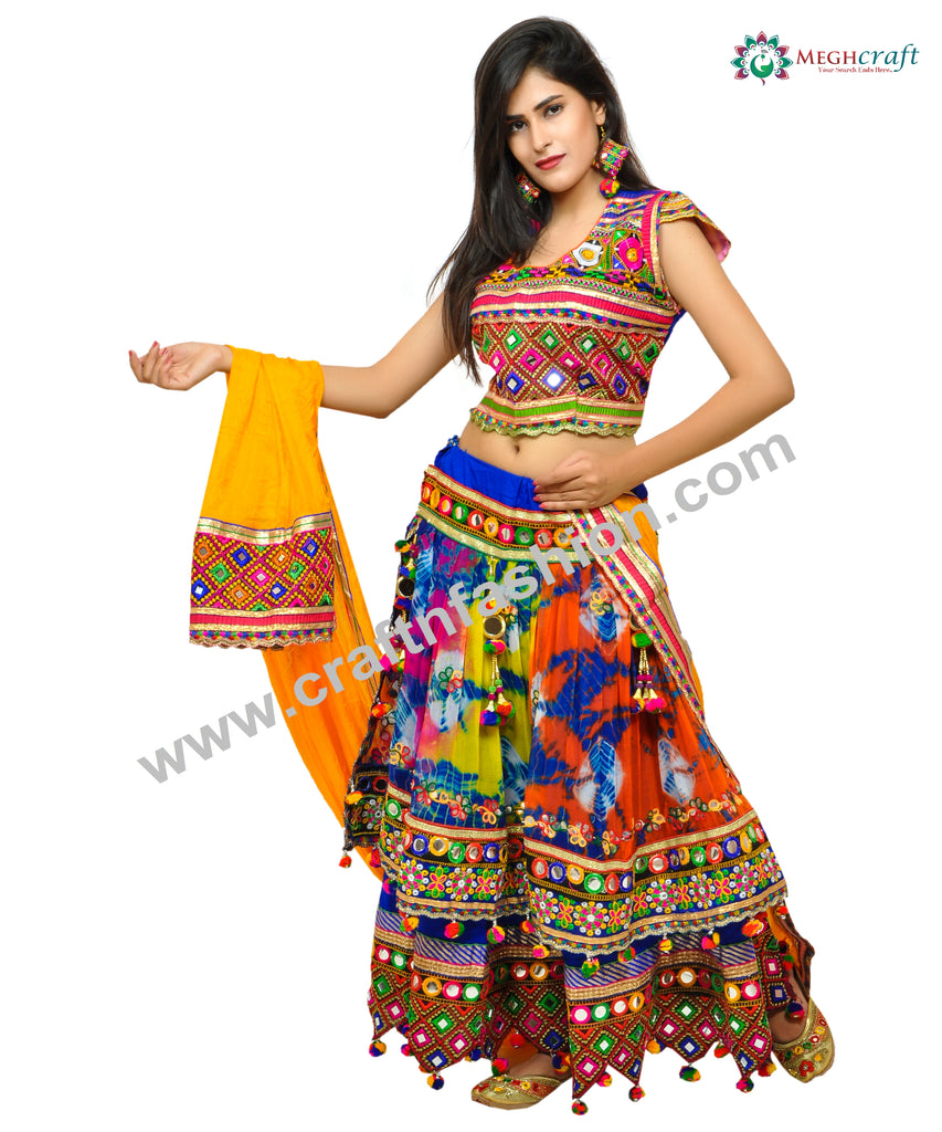 Banjara Style Garba Wear Chaniya Choli