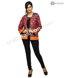 Floral Embroidered Designer Boho Jacket.