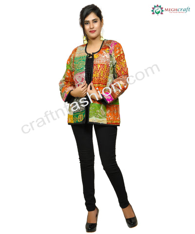 Vintage Fashion Wear Tribal Boho Jacket.
