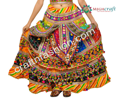 Traditional Navratri Festival Wear Women's Outfit