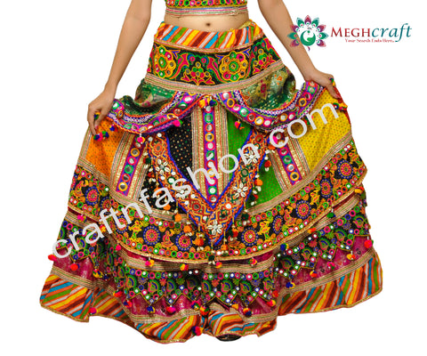 Vintage Kutch Work Sanedo Chaniya Choli