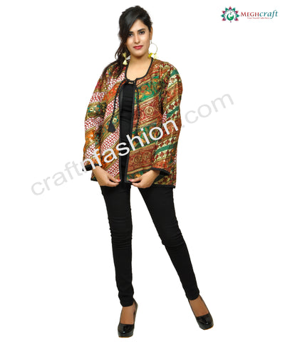 Handmade Gujarati Traditional Girl's Jacket.