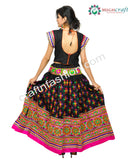 Multi Colored Kutch Work Lehenga Choli