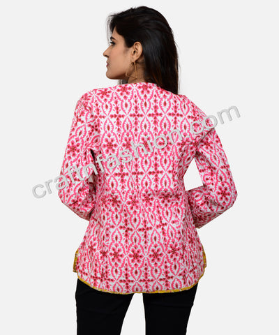 Cotton Quilted Bohemian Gypsy Jacket