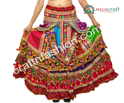 Hand Embroidered Navratri Festival Wear Choli