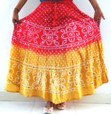 Exclusive  Bandhej Skirt