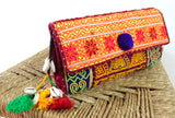 Traditional Kutch Embroidered Clutch Purse