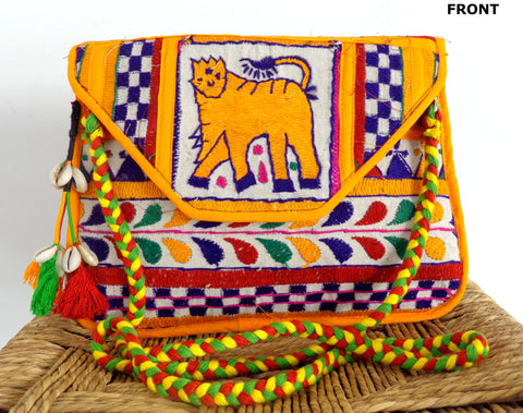 Indian Banjara Style Clutch Purse Handbag