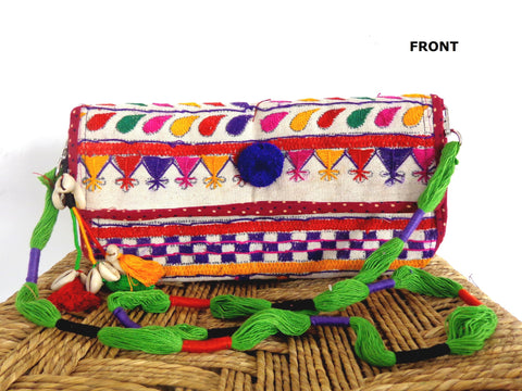 Gypsy Banjara Clutch Purse
