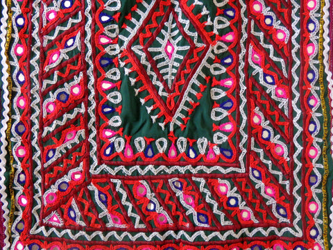 Kutch Hand Embroidered Blouse Top
